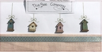 4 boutons nichoirs de printemps  Bee Cie TB15B