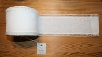 Bande à broder Vaupel bordure dentelle Ecru 10cm  par 50 cm