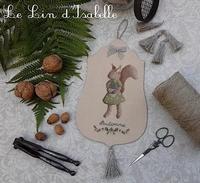 Ecureuil d'Automne, Le Lin d'Isabelle