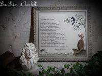 Le Corbeau et le Renard Le Lin d'Isabelle