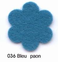 Feutrine Bleu Paon CP036