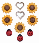 Dress it up Creative Collection Sunflower