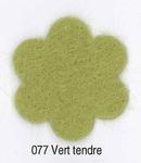 Feutrine Vert Tendre CP077