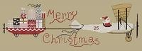 Mme Chantilly Santa arrives on...
