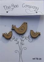 Trois oiseaux Bee Cie 26