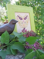 Coeur aux Oiseaux L'R de Rien