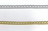 Dentelle Lurex par 50 cm