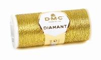 DMC Fil Diamant D3852 Doré Foncé