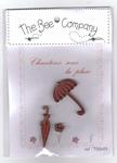 Chantons sous la pluie Rouge Bee Cie TB94R