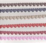 Ruban Coeurs Vichy par 50 cm